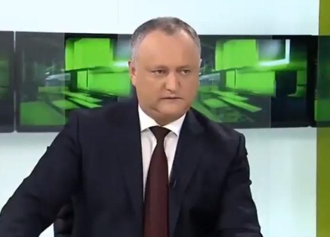 Игорь Додон раскрыл подробности предстоящего визита в США (ВИДЕО)
