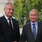 Додон рассказал, о чем будет говорить с Путиным на грядущей встрече (ВИДЕО)