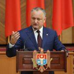 Додон: 30% депутатов Парламента РМ должны избираться из числа представителей других национальностей (ВИДЕО)