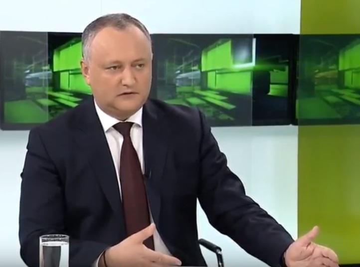 """Додон о депутатах, праздновавших """"унирю"""" в Бухаресте: Для молдаван они предатели, для унионистов – трусы (ВИДЕО)"""