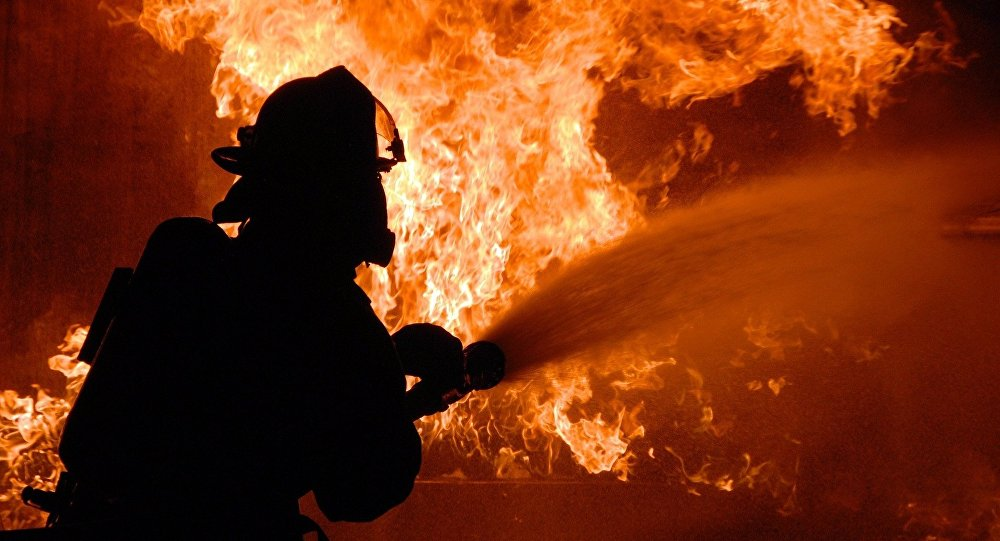 В Республиканской больнице инсценировали пожар (ВИДЕО)