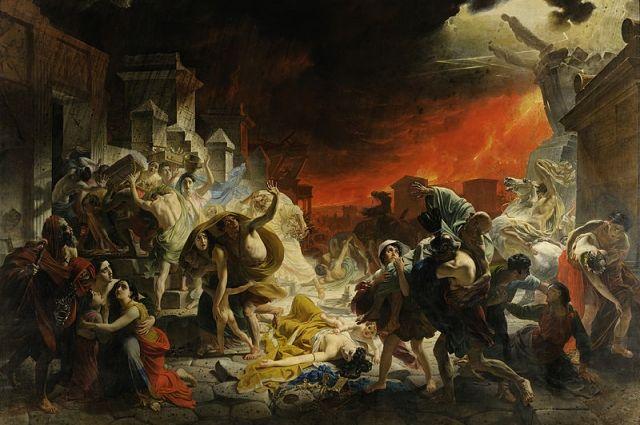 «Последний день Помпеи» и еще 9 шедевров из коллекции Русского музея