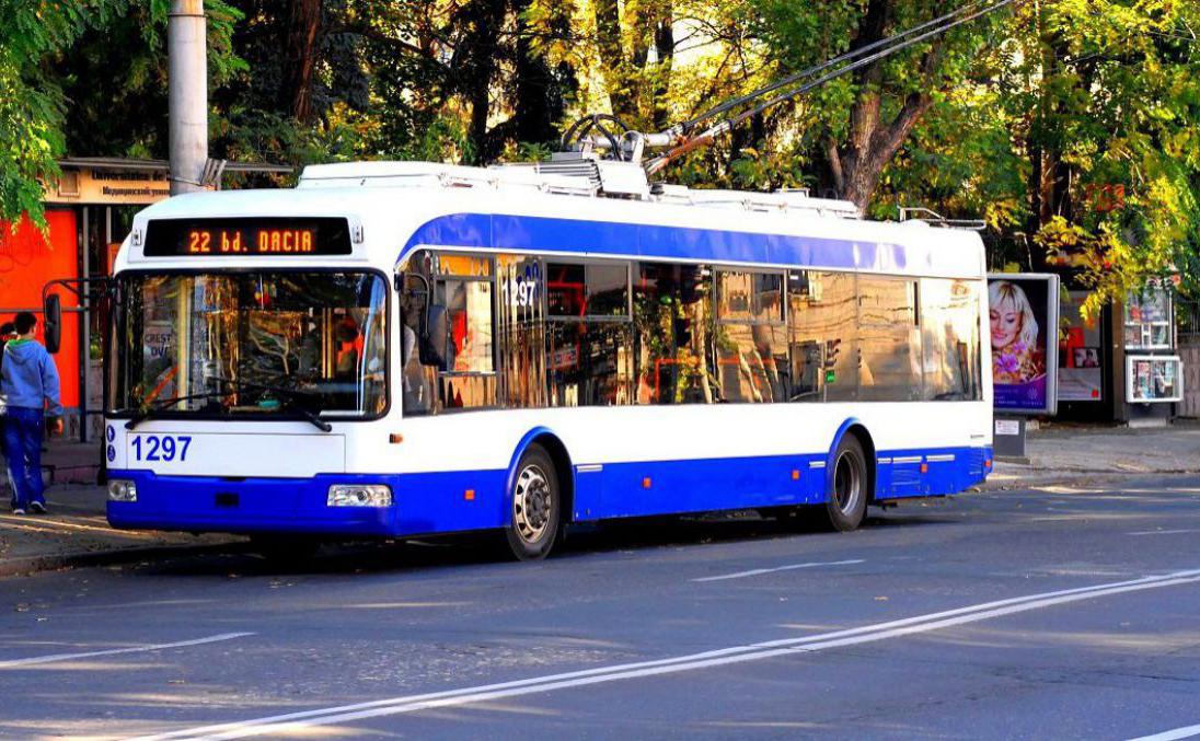 В течение двух часов троллейбусы не могли ездить по одной из столичных улиц