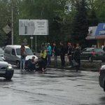 На Ботанике в районе пешеходного перехода был сбит человек (ФОТО)