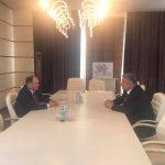 Ион Чебан на встрече с министром молодёжи Азербайджана договорился о возобновлении сотрудничества