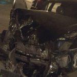 В Кишиневе минувшим вечером были разбиты два BMW (ФОТО)