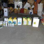 Внушительная партия контрабандных семян и пестицидов конфискована полицией (ФОТО)