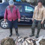 Восемь молдаван пойманы на границе во время незаконной рыбалки (ФОТО)