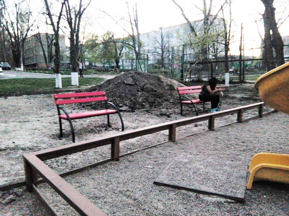 Муниципальные службы намеренно саботируют проект ПСРМ по благоустройству дворов Кишинева (ФОТО)