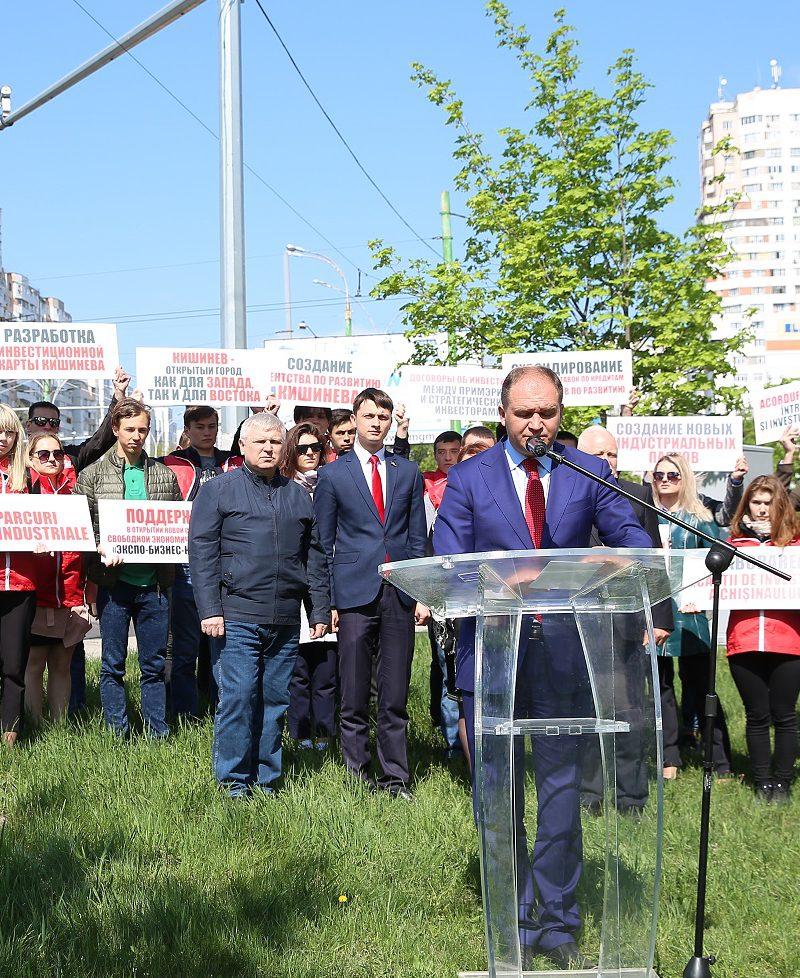 Чебан рассказал, как сделать Кишинев городом, открытым для бизнеса и инвестиций (ВИДЕО)