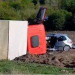 Смертельное ДТП в Страшенском районе: погиб пожилой водитель (ВИДЕО)