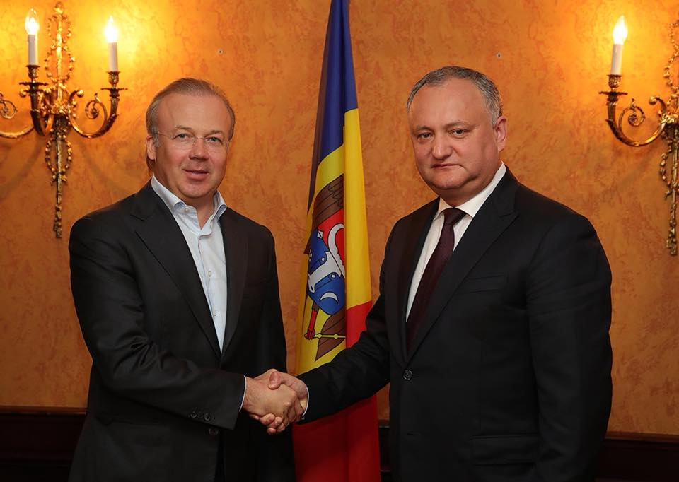 Igor Dodon agreed to hold a Moldovan-Russian economic forum in Chisinau