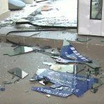 Пьяный мужчина пытался ограбить филиал банка на Рышкановке (ВИДЕО)