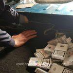 Молдаван спрятал в багажнике более 4 тысяч сигарет и пытался ввезти их в Румынию (ФОТО)