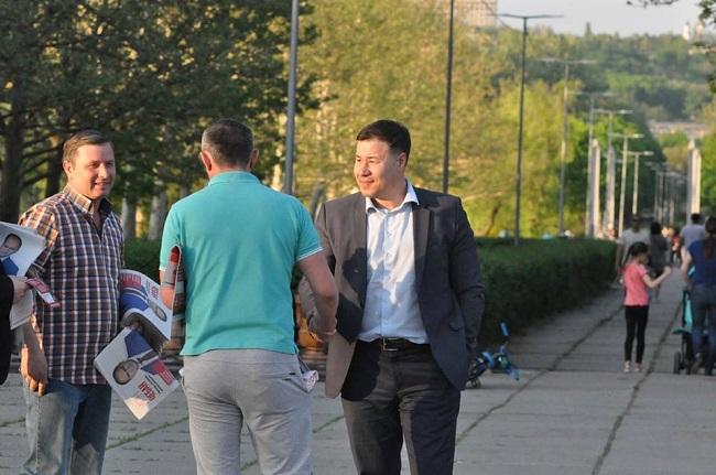 Цырдя после общения с кишиневцами: Большинство за Иона Чебана, Раду люто ненавидят