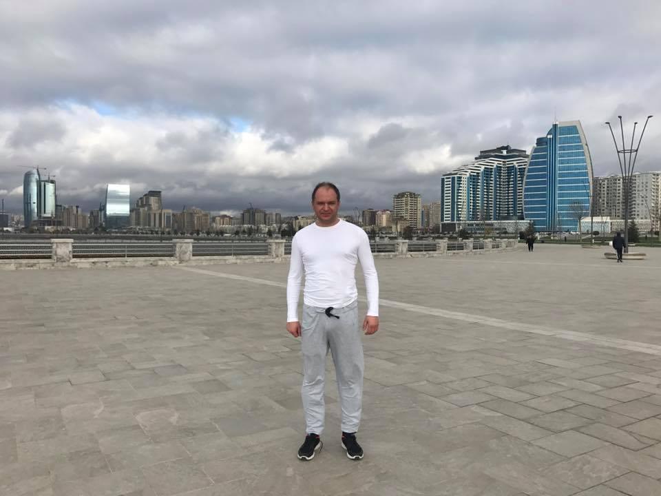 Ион Чебан совершает визит в Баку