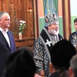В канун Пасхи президент встретился со священнослужителями Бельцко-Фалештской епархии (ФОТО)
