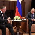 Додон – Путину: Никому не удастся поссорить наши народы