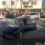Серьезная авария в Унгенах: два автомобиля восстановлению не подлежат (ФОТО)