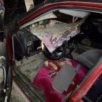 Пять человек пострадали в ужасном столкновении машины и телеги