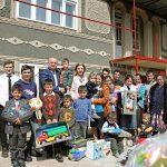 Семья президента подарила новый дом еще одной нуждающейся семье (ФОТО)