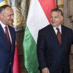 Додон поздравил Орбана с впечатляющей победой на парламентских выборах в Венгрии