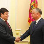 Додон обсудил предстоящий визит Лукашенко в Кишинев с послом Беларуси в Молдове