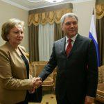 Зинаида Гречаный встретилась с председателем Госдумы РФ (ФОТО)