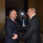 Игорь Додон поздравил Ильхама Алиева с убедительной победой на выборах президента Азербайджана