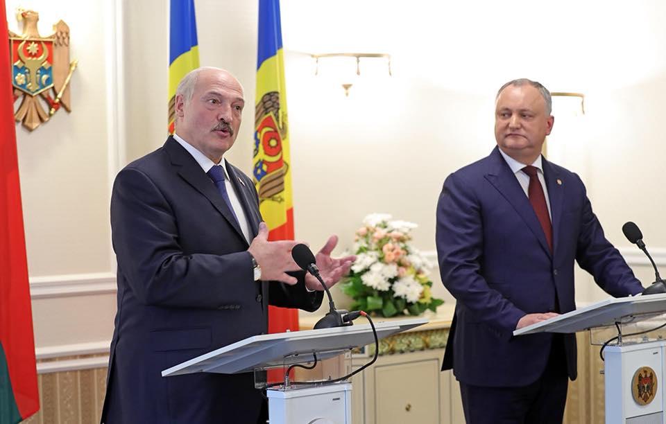 Лукашенко – молдаванам: Мы будем делать всё для того, чтобы вы жили богаче