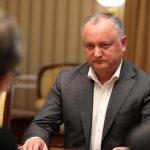 Додон: Если осенью мы не выйдем массово на выборы, Молдовы не станет через несколько лет (ВИДЕО)