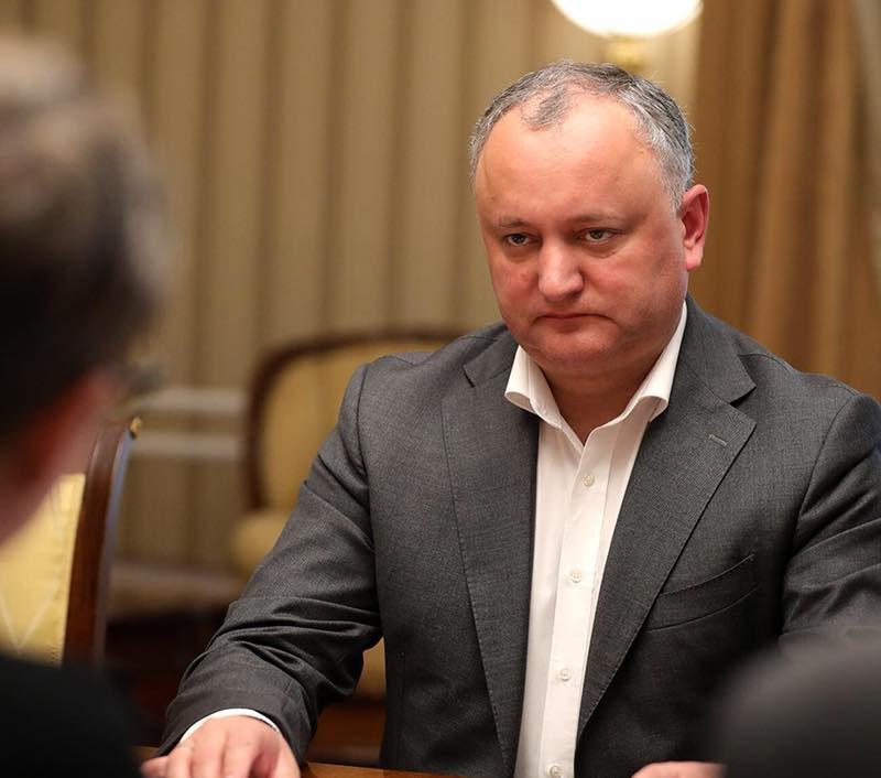 Додон: После выборов правительство Молдовы будет участвовать в заседаниях ЕАЭС в статусе наблюдателя (ВИДЕО)
