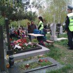 Полицейские выступили с рядом рекомендаций для водителей, отправляющихся на столичные кладбища