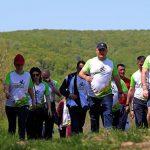 Президент вместе с семьей принял участие в беговом марафоне на дистанцию в 15 км (ФОТО)