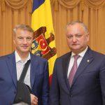 Додон: Считаю крайне важным продолжение и укрепление связей с политической и деловой элитой нашего стратегического партнера – России