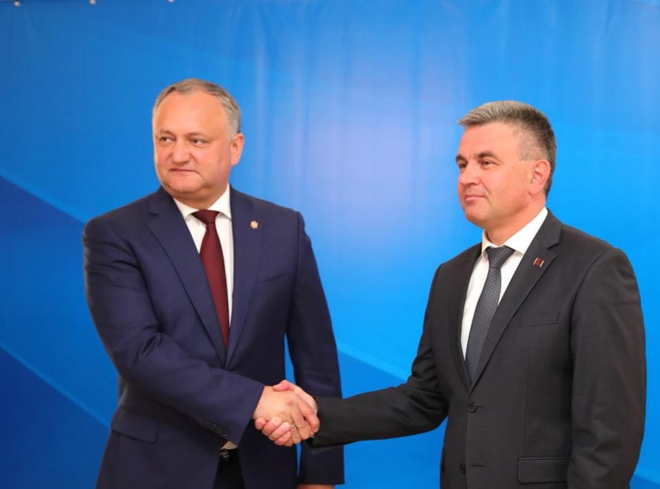 Додон подвел итоги встречи с Красносельским (ФОТО, ВИДЕО)