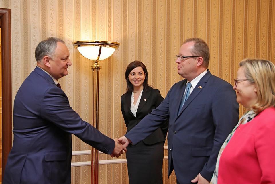 Президент высказался за интенсификацию двусторонних отношений между Молдовой и Австрией во всех сферах