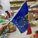 В магазинах при покупке государственного флага бонусом дают флаг ЕС