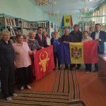 Эстафета флагов продолжается: историческое знамя Молдовы получило и село Григорьевка