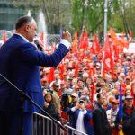 Додон о первомайском марше в Кишиневе: Это хорошая традиция, и я ее поддерживаю!