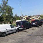 Цепная авария в Сынджере: 4 машины столкнулись одна за другой
