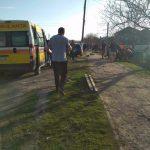 В Фэлештах мотоцикл влетел в остановку: два трупа, двое раненых (ФОТО)