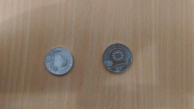 Новые монеты уже начали звенеть в карманах жителей Молдовы (ФОТО)