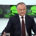 Додон рассказал, как будет организован Национальный фронт в поддержку государственности Молдовы (ВИДЕО)