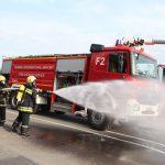 В Кишинёвском аэропорту случился постановочный пожар (ФОТО)