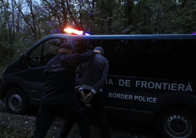 На границе арестован контрабандист, пытавшийся сбежать от правоохранителей (ФОТО, ВИДЕО)