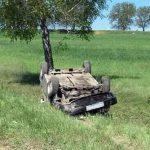 В Приднестровье перевернулся автомобиль: пострадал ребенок