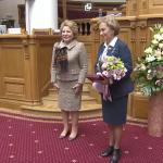 Зинаида Гречаный и Владимир Головатюк получили высокие награды от Межпарламентской Ассамблеи СНГ (ВИДЕО)