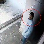 Велосипедный вор в Кишиневе попал на видео и разыскивается полицией