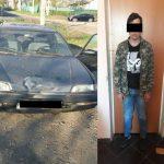 Угонщик-неудачник в Кишиневе разбил украденную машину и попал в руки полицейских